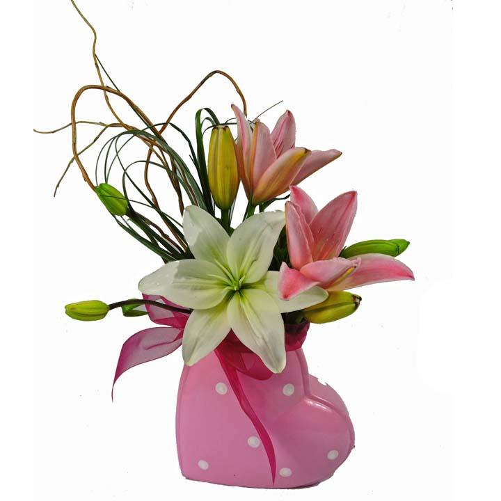 Pink Heart Lilies final