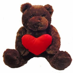 Red Heart Bear