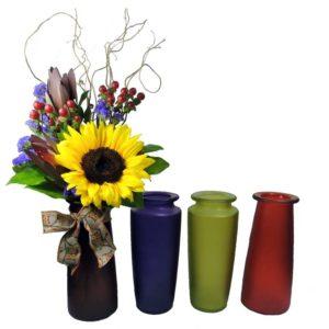 Chillin in Autumn 4 vases