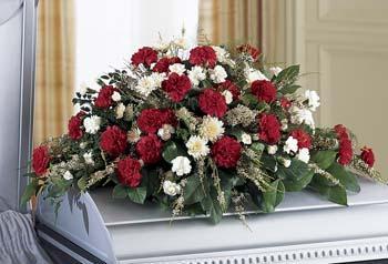 Ftd sincerity casket spray flower patch ftd sincerity casket spray mightylinksfo