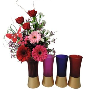 Florist In Provo Flower Delivery Half Dozen Roses Artistically Arranged With Decorative Heart Accent