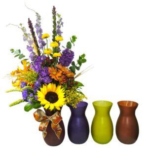 Rustic Garden 3 vases