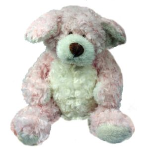 Pink & Cream Dog plush
