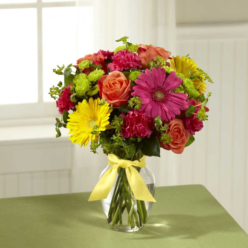 FTD Bright Days Ahead Bouquet – Flower Patch